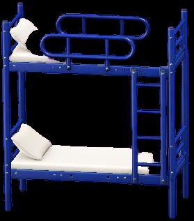 にだんベッドのブルーの画像