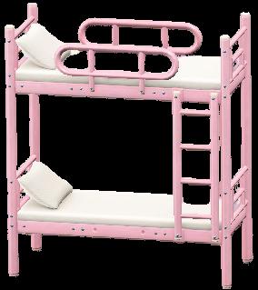 にだんベッドのピンクの画像