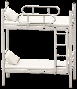 にだんベッドのホワイトの画像