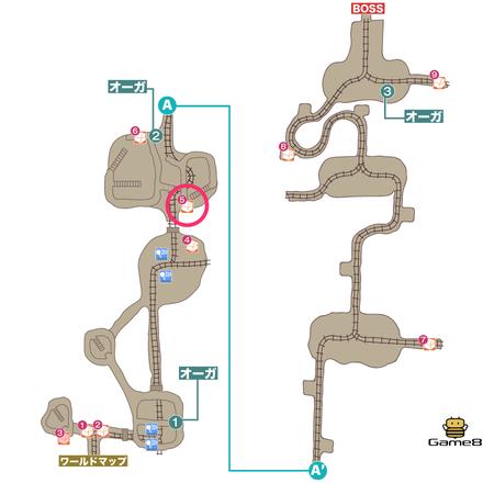瘴気鉱山カトゥリゲスマップ