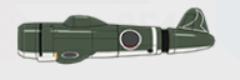 長島飛行脚 キ43-Ⅱ「隼」Ⅱ型