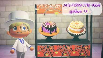 ハロウィンケーキの画像