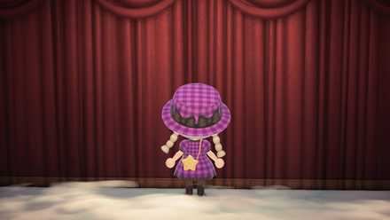 リボン帽子の画像