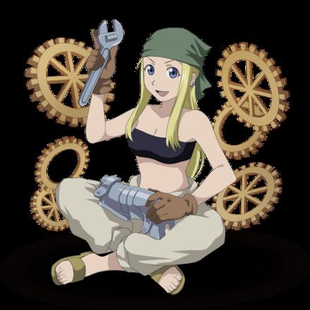 機械鎧技師 ウィンリィ・ロックベルの画像