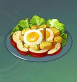 満足サラダの画像