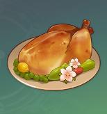 鳥肉のスイートフラワー漬け焼きの画像