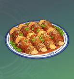 Matsutake Meat Rolls Image
