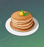 午後のパンケーキの画像