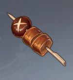 Chicken-Mushroom Skewer Image