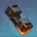 漆黒の隕鉄の一片画像