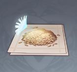 Изображение семян одуванчика
