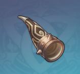 Black Bronze Horn Image