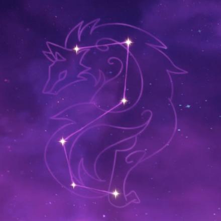 レザーの星座画像