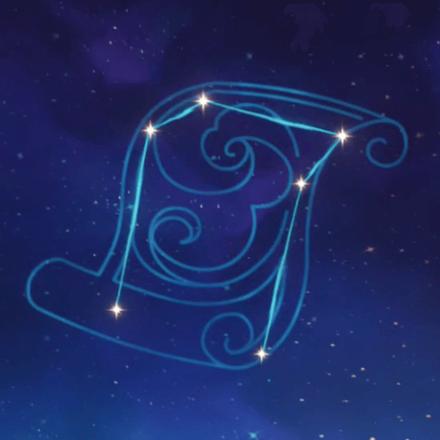 行秋の星座画像