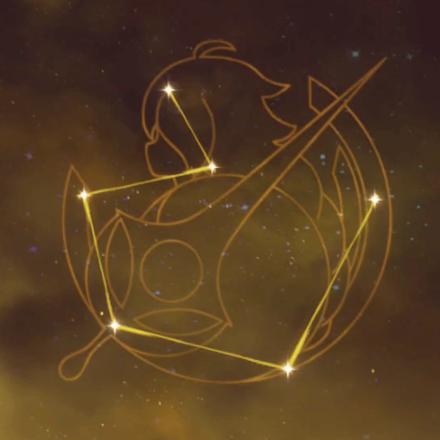 主人公(岩)の星座画像
