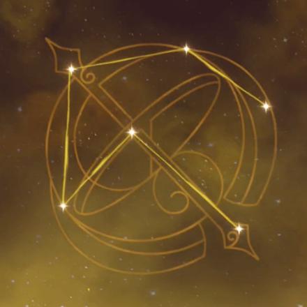 凝光の星座画像