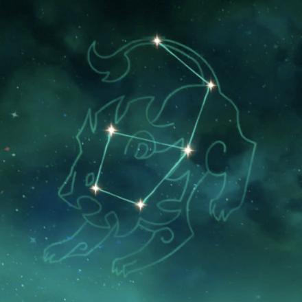 ジンの星座画像
