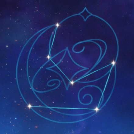 モナの星座画像
