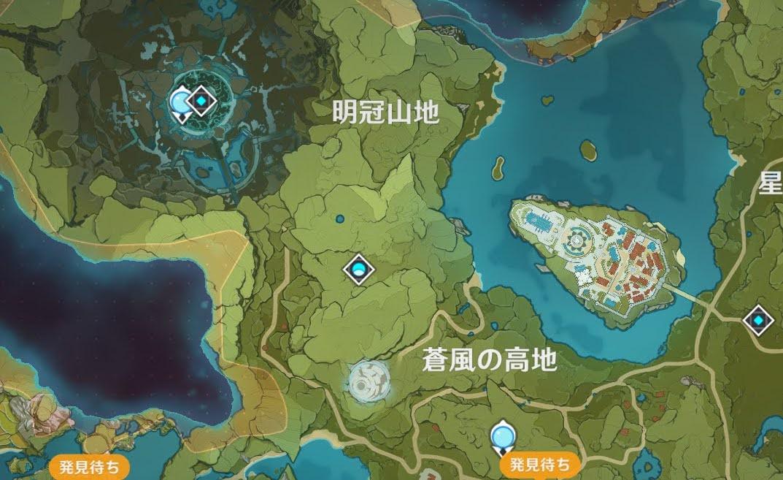 3-1の地図