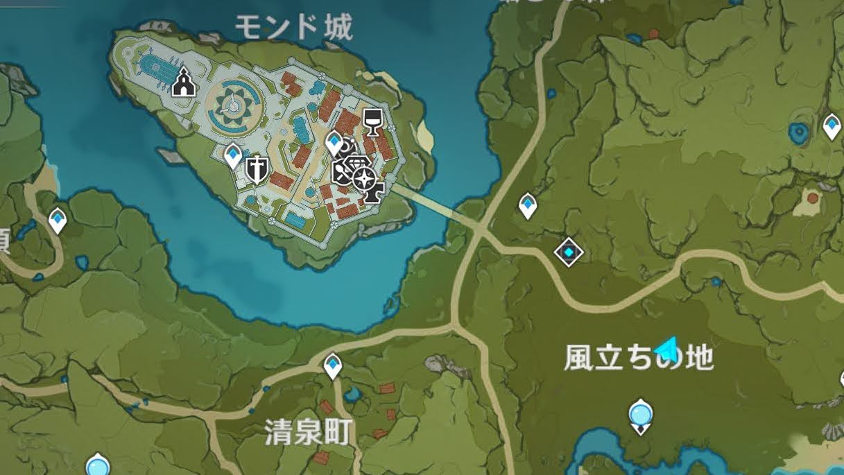 3-2の地図