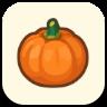 オレンジのかぼちゃ画像