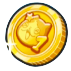 1周年コインのアイコン