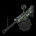 九九式機関銃(森林迷彩)