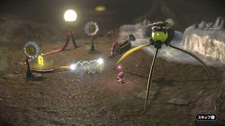 電球を付けて黃ピクミンを増やす