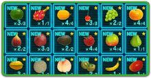 果実(食料)の一覧