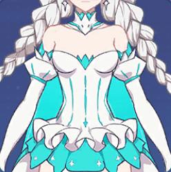 冬のお姫様の画像
