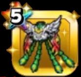 不死鳥の鎧上のアイコン