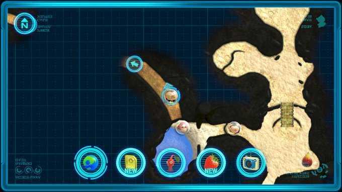 メタルスーツZ マップ画像