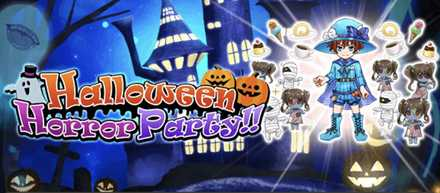 Halloween Horror Party!!