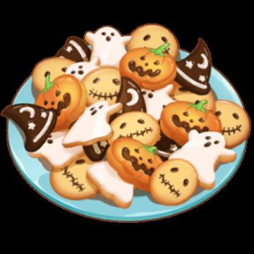 ハロウィンクッキーの画像