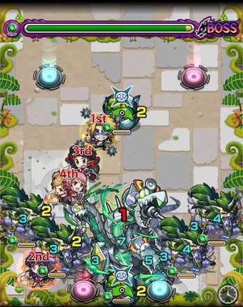 ピキュールドラゴン ボス2