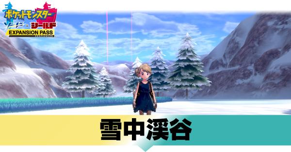 雪原 穴 巣 の 冠 氷点雪原 (カンムリ雪原)