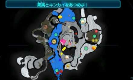 雪原のマップ