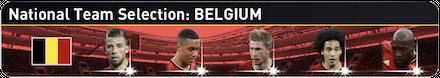 ベルギー代表ガチャのバナー