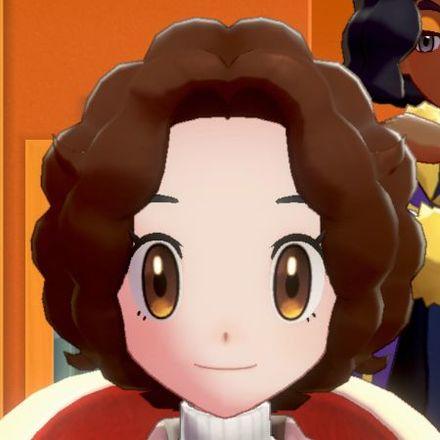 髪型カーリーボブ