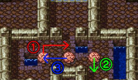 岩のパズル
