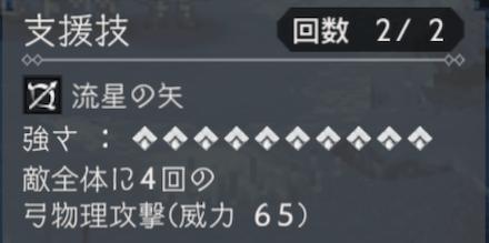 連撃支援技