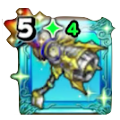 メタルキングのハンマー