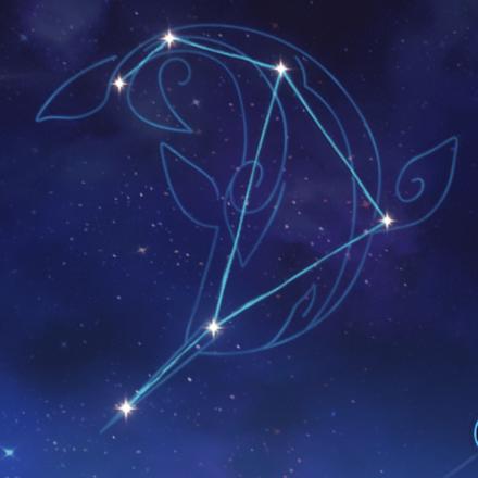 タルタリヤの星座画像