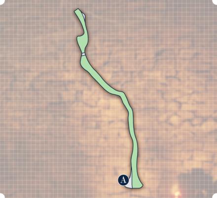 腐れ谷2マップ