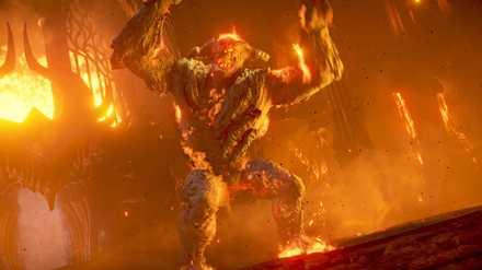 炎に潜む者の画像