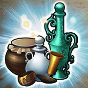 三大精の酒壺の画像