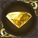 黄金の拡結晶の画像
