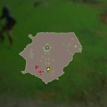リンクの特訓 片手剣のマップ
