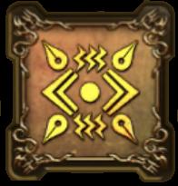 天地雷鳴士の紋章・盾のアイコン