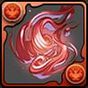 赤の妖火玉の画像